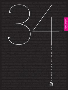cover of the SND34 Best of News Design book by osama aljawish, via Behance