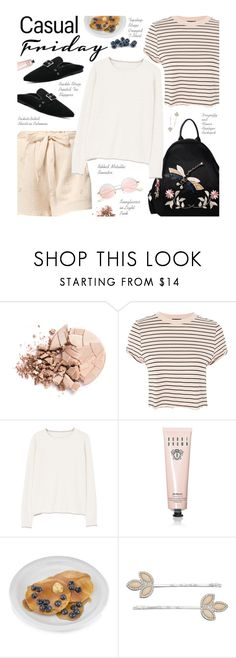 """Casual Friday"" by beebeely-look ❤ liked on Polyvore featuring Anastasia Beverly Hills, Topshop, MANGO, Bobbi Brown Cosmetics, LC Lauren Conrad, casual, casualoutfit, casualfriday, sammydress and backpacks"