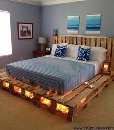 Construindo Minha Casa Clean: Decoração com Pallets - Veja 60 Ideias Incríveis para sua Casa!