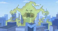 Con su espantoso olor agobiaba la ciudad, hasta que las Powerpuff Girls lo vencieron prendiendo un fósforo gigante. Powerpuff Girls, Ice Tray, Silicone Molds, Monsters, Cities