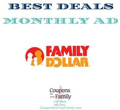 Family Dollar Monthly Coupon Deals Dec 13-19:  $4.00 DiGiorno Pizza, $1.50 Halls Drops, $5.75 Folgers Coffee & more - http://www.couponsforyourfamily.com/family-dollar-monthly-coupon-deals/