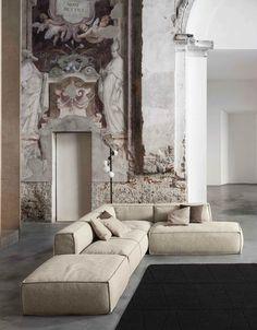 Sectional sofa PEANUT @bonaldo