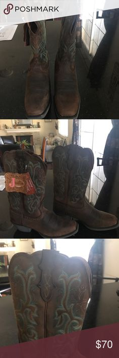 Cowboy boots for ladies New cowboy boots for ladies Justin Boots Shoes Heeled Boots