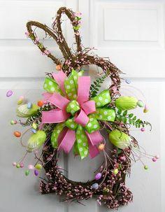 Berry Rabbit Wreath