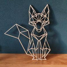 Geometric Cat Tattoo, Geometric Drawing, Geometric Lines, Geometric Wall, Geometric Designs, Crafts To Do, Arts And Crafts, Art Storage, 3d Pen