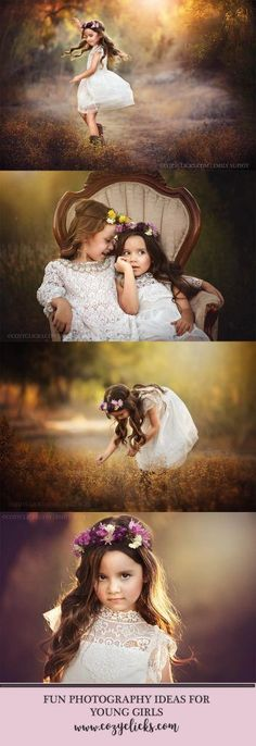 Looking for natural and unique poses for children? Come check out some great examples here!