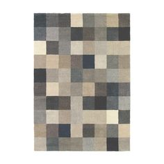Add a touch of drama to the home with this Fusion Patch rug from Brink & Campman. Axminster woven using traditional methods, it is crafted from pure new wool blended with PES. In warm neutrals, this r
