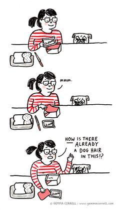 pug owner problems. Pug Illustration, Pug Cartoon, Pug Pictures, Pug Pics, Carlin, Pugs And Kisses, Pug Art, Cute Pugs, I Love To Laugh