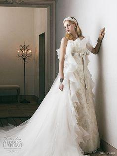 http://www.weddinginspirasi.com/2011/02/03/jill-stuart-bridal-2011-wedding-dress-collection/ 2011 #wedding dresses by Jill Stuart #weddingdress #weddings #bridal