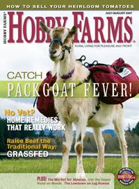 Hobby Farms July/August 2007