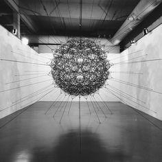Air Port City/Cloud Cities-Thomas Saraceno #installation (at Istanbul Modern | Istanbul Museum of Modern Art)
