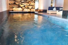 Don& Let Your Pool Take Up All Your Space -Try Hydrofloors Instead Wooden Flooring, Concrete Floors, Don't Let, Let It Be, Grand Designs Live, Cool Pools, Basement Remodeling, Your Space, Swimming Pools