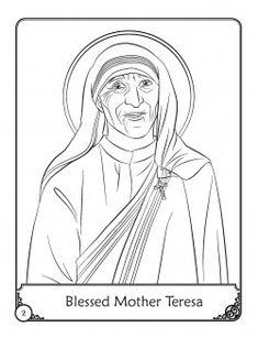 St john bosco saint for kids youtube children 39 s for Mother teresa coloring page