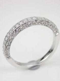 Paisley and Filigree Diamond Wedding Band  http://www.topazery.com/antique-jewelry-item-rg1747wbd.htm