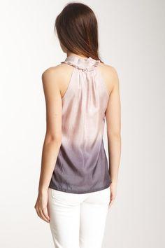 Ombre Silk Top