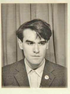 morrissey in a photo booth