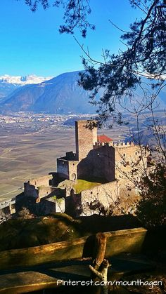 Hocheppan castle in South Tyrol or Alto Adige, North Italy