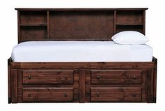 Sedona Twin Roomsaver Bed/4- Drawer Captains Unit - Signature