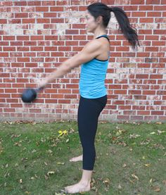 How to Properly Do a Kettlebell Swing