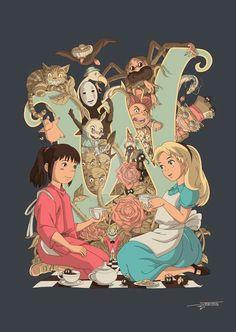 Chihiro and Alice