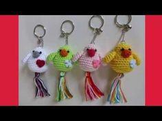 Hermosas y muy Fácil de Realizar Mariquitas llavero tejidos a crochet - YouTube