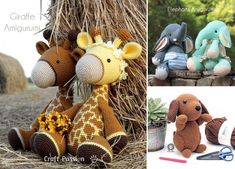 We all had our favorite toys as kids, whether it's teddy bears, dolls or race cars. Having the one beloved toy is a must during childhood, so why not create a meaningful one especially for the kids that are dear to your heart?  #freecrochetpattern #amigurumi #toy Giraffe, Elephant, Cute Crochet, Teddy Bears, Toys, Race Cars, Fun Stuff, Crochet Patterns, Childhood