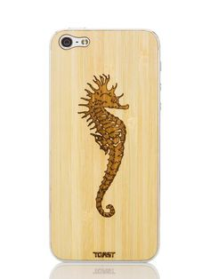 SEAHORSE IPHONE 5 COVER - BAMBOO