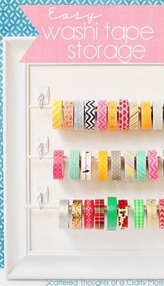 21 Genius Tips To Organize Literally Everything With Command Hooks - Chasing A Better Life