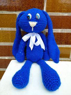 Crochet Rabbit, Dinosaur Stuffed Animal, Toys, How To Make, Animals, Activity Toys, Animales, Animaux, Clearance Toys