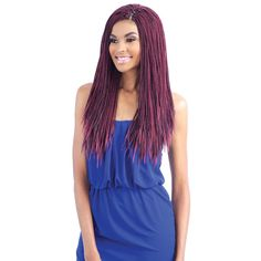 GLANCE SYNTHETIC BRAID MICRO SENEGALESE TWIST