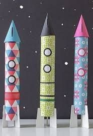 Bildergebnis für rakete aus klorolle