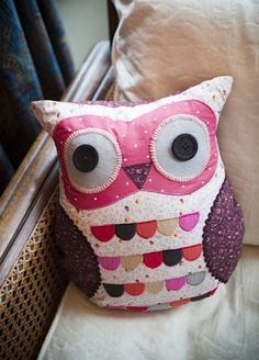 """Can't have too many owls. From Iota. Also from amazon.co.uk - """"owl cushion"""" :)"""