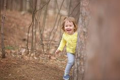 Do you love taking nature walks? This photo shoot became one!