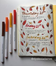 Autumn is Coming Flat Mates, Crayola Supertips, My Doodle, Bullet Journals, Lilac, Doodles, Autumn, My Favorite Things, Creative