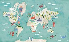 Map Illustration Masako Kubo