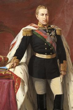King Luís I (1838-1889), painted in 1863 by António Rodrigues - Mafra National Palace