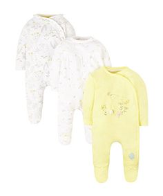 Order a little botanist sleepsuits - 3 pack today from Mothercare.com. Delivery free on all UK orders over £50.