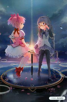 Madoka y Homura