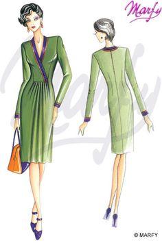 Mod. 2941 -- Marfy Sewing Patterns