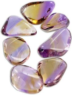 """Ametrine: said to help clear stress/tension from the head, calming the mind & bringing focus to meditate.  See more at """"Zen with Donna"""" fb page."""