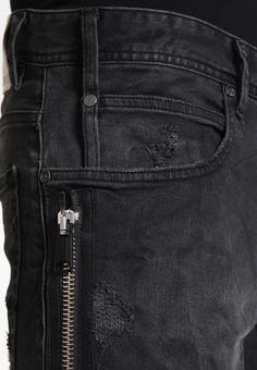 Replay BRANNON - Slim fit jeans - black denim - Zalando.co.uk