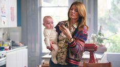 Apart from the fact that it's very deliciously well written and that it's all about an Irish-American couple living in London, I'm totally in love with the colorful aesthetic of the show. Sharon Horgan, Irish American, Best Tv Shows, Feel Like, Style Icons, Cool Outfits, Feelings, Spring, Color