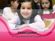 Cute teenager with laptop internet powerpoint templates and school girl education powerpoint backgrounds and templates 1210 powerpoint templates themes background toneelgroepblik Choice Image