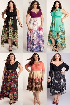 Plus Size Wedding Guest Dresses and Accessories Ideas | gorgeautiful.com