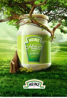 Heinz Veggie Mayo on Behance Ads Creative, Creative Posters, Creative Advertising, Advertising Design, Advertising Campaign, Food Poster Design, Graphic Design Posters, Ad Design, Graphic Design Inspiration