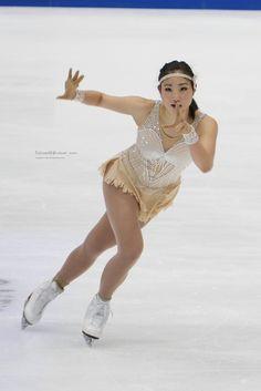 Ladies FS Practice - Mirai Nagasu
