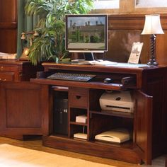 traditional hidden home office. Fendi Hidden Home Office Computer Desk | Http://adminjunction.info Pinterest And Desks Traditional L