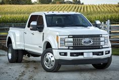2017 Ford F-450 Super Duty Platinum Crew Cab