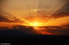 A Terlingua sunset is calling you to come drink in the beauty of this raw country.   Photo by Tim McKenna
