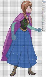 Frozen – Anna Birdie's Patterns, Cartoons, Disney, Frozen 0 Comments Feb 152014